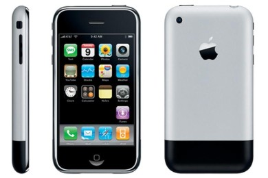 iPhone 2G con iOS 1 y HTC G1 con Android 1 frente a frente