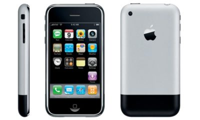 iPhone 2G con iOS 1 y HTC G1 con Android 1 frente a frente 82