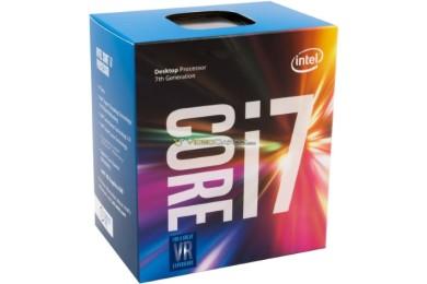Así son las cajas de los procesadores Intel Kaby Lake