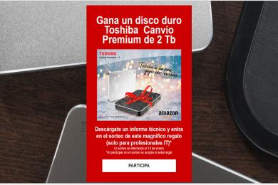 ¿Quieres ganar un disco duro Toshiba Canvio Premium de 2 Tbytes?