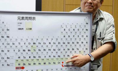 Es oficial, la tabla periódica tiene desde hoy cuatro nuevos elementos 30