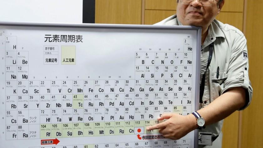 Es oficial, la tabla periódica tiene desde hoy cuatro nuevos elementos