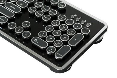 Ncore Retro Keyboard, un teclado único y muy bonito