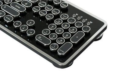 Ncore Retro Keyboard, un teclado único y muy bonito 107
