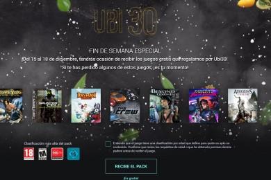 Este fin de semana podrás hacerte con siete juegos de Ubisoft gratis