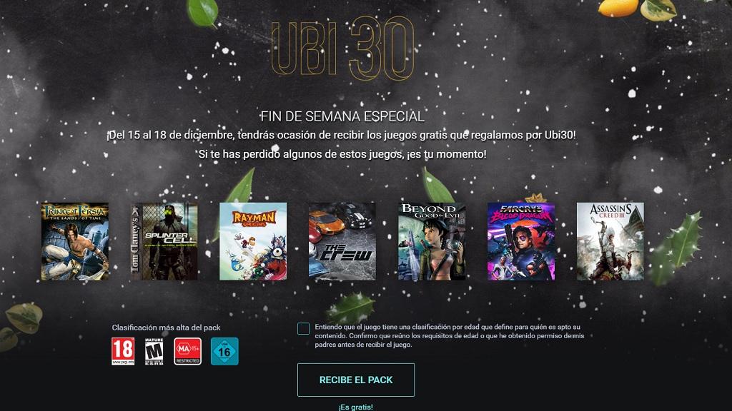 Este fin de semana podrás hacerte con siete juegos de Ubisoft gratis 29