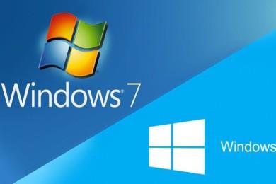 Windows 10 superará a Windows 7 en diciembre de 2017
