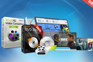 Dos herramientas para convertir fácilmente vídeos a MP4 con Windows 10, ¡oferta limitada!