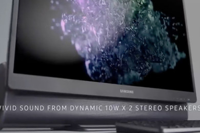 Samsung presenta AIO con barra de sonido