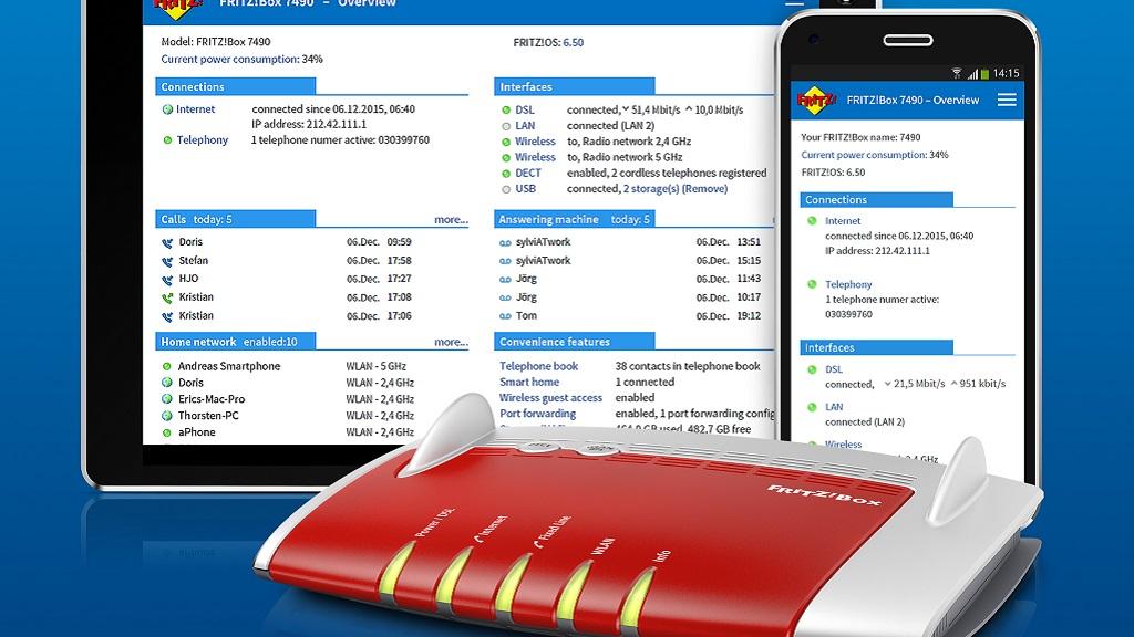 Utiliza tu smartphone como extensión de tu teléfono fijo con FRITZ!App Fon 31