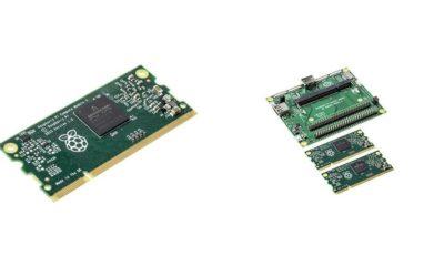 Raspberry Pi lanza el nuevo Compute Module 3 32