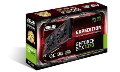 ASUS anuncia la nueva EXPEDITION GTX 1070, una gráfica potente y discreta 125