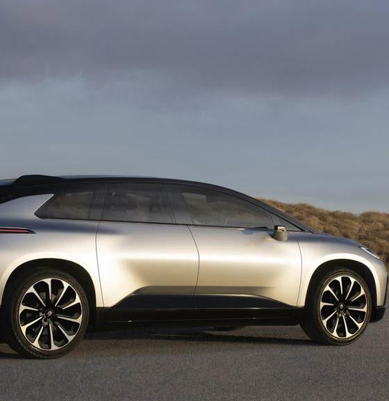 El coche FF 91 de Faraday costará unos 300.000 dólares 32