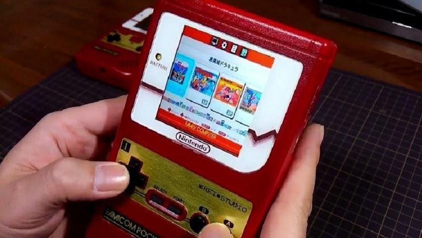 Famicom Pocket, una Famicom Mini en el cuerpo de una Game Boy