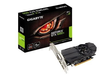 GIGABYTE presenta GTX 1050 y GTX 150 TI de perfil bajo