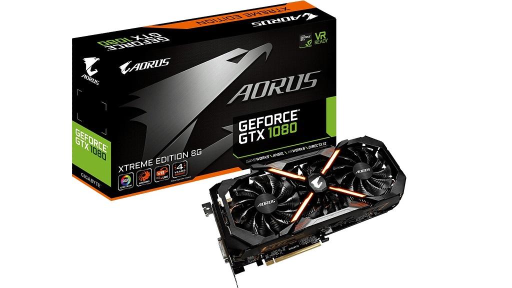 GIGABYTE lanza la nueva GeForce GTX 1080 AORUS Xtreme Edition 30