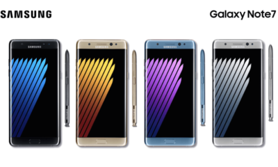 fallos del Galaxy Note 7