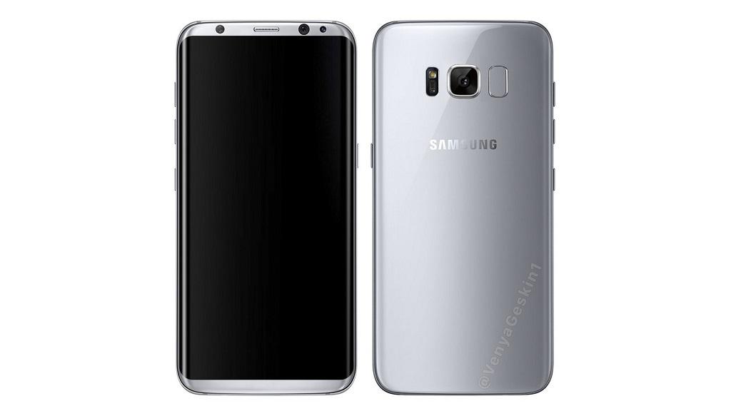 Asoma un supuesto render oficial de prensa del Galaxy S8 28