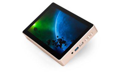 Gole1 Plus, un PC compacto con pantalla integrada 30