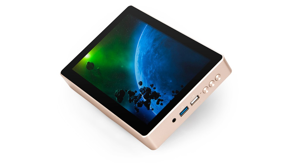 Gole1 Plus, un PC compacto con pantalla integrada 30
