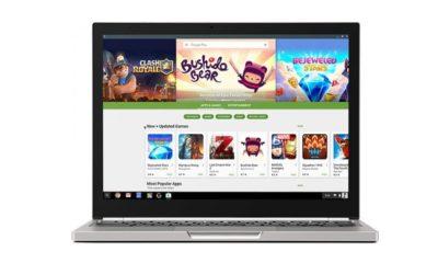 Todos los Chromebooks vendidos desde 2017 soportarán Google Play Store 105