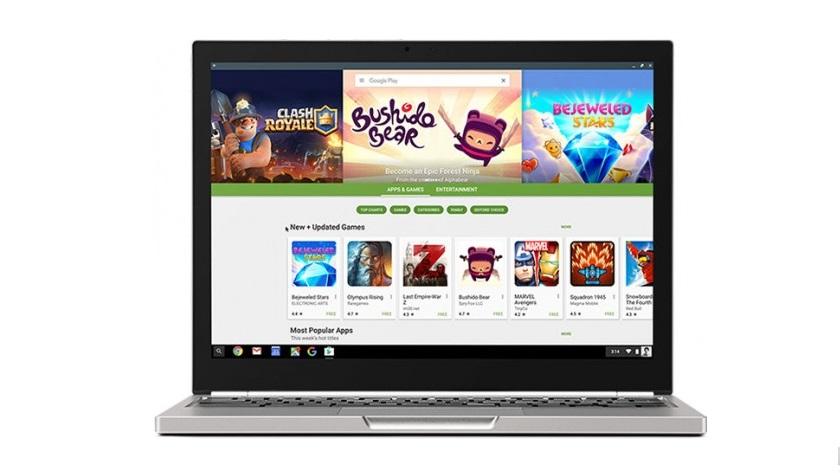Todos los Chromebooks vendidos desde 2017 soportarán Google Play Store 29