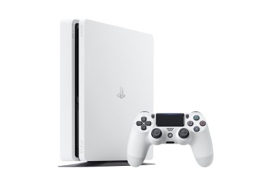 Sony presenta la nueva PS4 Slim en color blanco glaciar