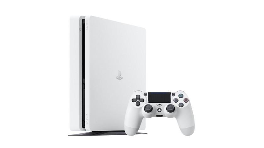 Sony presenta la nueva PS4 Slim en color blanco glaciar