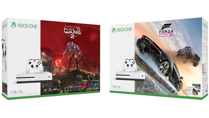 nuevos pack de Xbox One