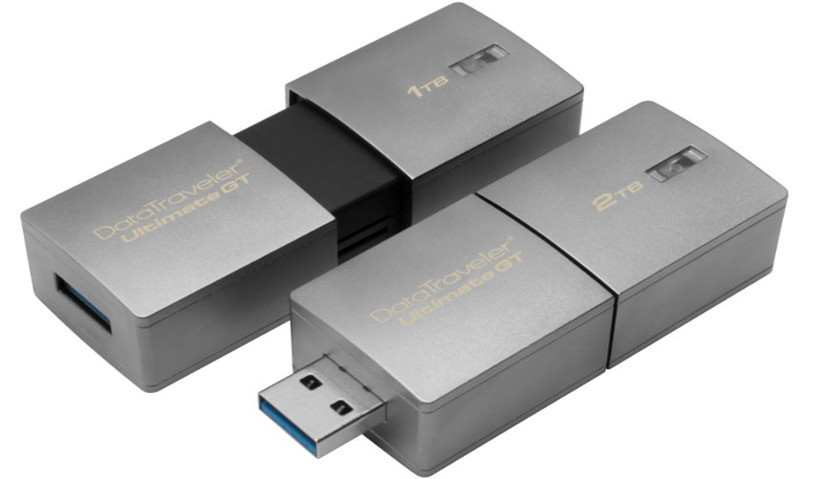 Kingston presenta un pendrive de 2 TB, el mayor del mundo