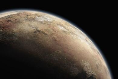 La NASA nos muestra cómo sería un aterrizaje en Plutón