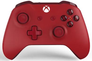 Microsoft comercializa el controlador Red Xbox One