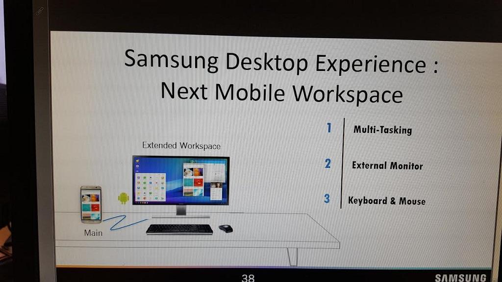 """Samsung DeX Station, herramienta para convertir el Galaxy S8 """"en un PC"""" 35"""