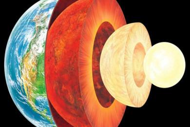 ¿Cuál es el tercer elemento del núcleo terráqueo? ¿Silicio?