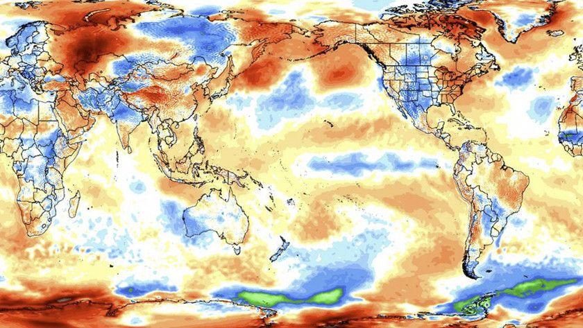 año más caluroso