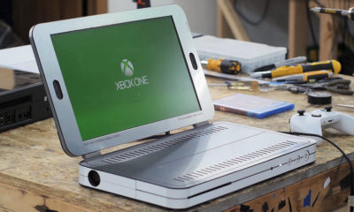 Xbox One S en un portátil
