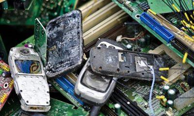 La basura electrónica aumenta en Asia hasta niveles alarmantes 32