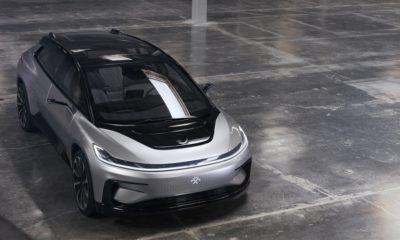 Saluda al FF 91, el coche eléctrico de Faraday Future 97