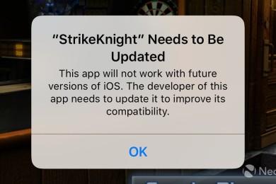 Adiós definitivo a los 32 bits en las próximas versiones de iOS