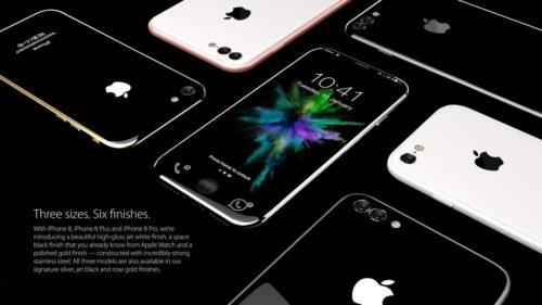 Interesante diseño conceptual de iPhone 8 en cristal