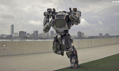 Hankook Mirae nos enseña cómo es el primer robot mecha real 101