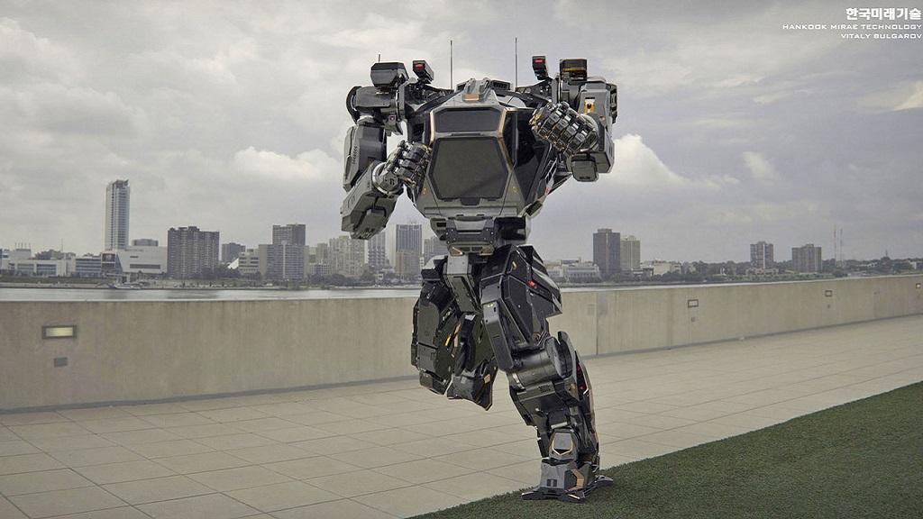 Hankook Mirae nos enseña cómo es el primer robot mecha real 30