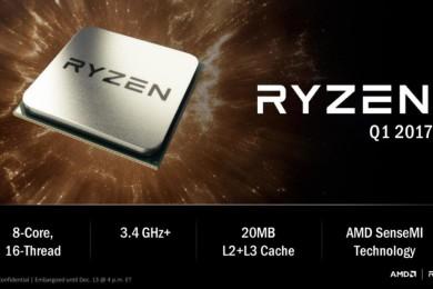 Primeras pruebas de rendimiento del RYZEN 7 1700X, supera al Core i7 6850K