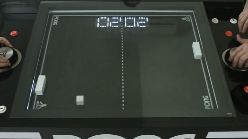 Atari Table Pong Project, un proyecto tan interesante como caro 31
