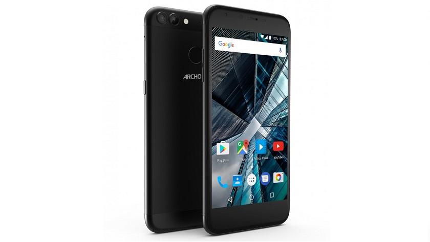 Archos presenta smartphones con doble cámara y precio contenido 31
