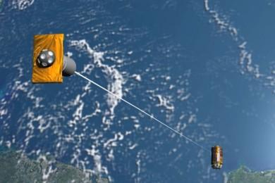 El limpiador de basura espacial japonés fracasa en su primera misión