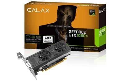 GALAX lanza nuevas GTX 1050 OC y GTX 1050 Ti OC de perfil bajo