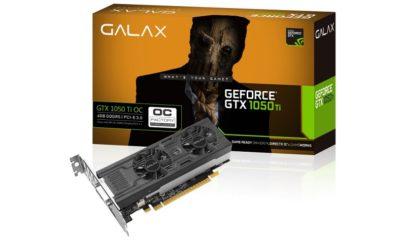 GALAX lanza nuevas GTX 1050 OC y GTX 1050 Ti OC de perfil bajo 55