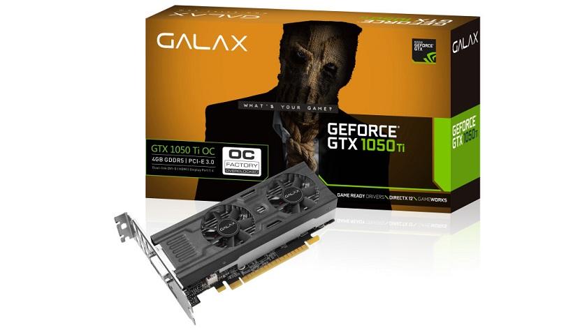 GALAX lanza nuevas GTX 1050 OC y GTX 1050 Ti OC de perfil bajo 29