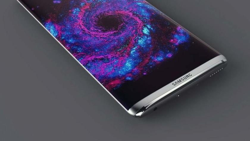 diseño del Galaxy S8